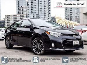 2014 Toyota Corolla S Premium Pkg / Leather
