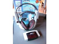 CORDLESS STEREO HEADPHONES. HARDLY USED. £19. INFRA RED TECHNOLOGY. FOR TV, HI FI, COMPUTER ETC.