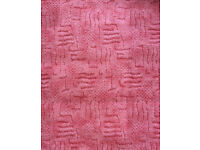 Carpet offcut Pink unused - any offer considered
