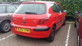 Peugeot 307 1.4 HDi Style 5dr (01 - 04)