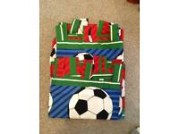 Football curtains & bedding