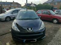 207 1.4 low mileage and 12 months mot