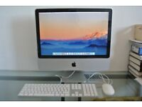 "Apple iMac 20"" (Mid 2007) with 2TB Hard Drive! Keyboard & Mouse - Intel Core 2 Duo 2GHz - 4GB RAM"