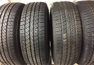 Brand new goodyear wrangler 265/70r17 set on rims