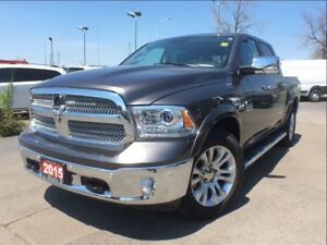 2015 Ram 1500 LONGHORN**SUNROOF**LEATHER**NAV**BLUETOOTH**