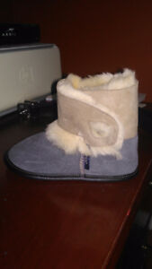 Brand new sheepskin slippers