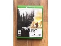 dyinglight , xbox one , as new ! price stands , no offers !