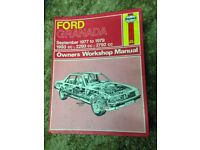 Ford Granada workshop Manual
