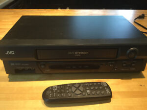 JVC video cassette player/ recorder