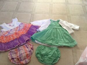 3-6 months children's place dresses