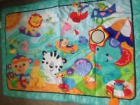 Very large fisher price baby play mat
