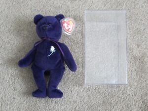 1st Edition Princess Diana TY Beanie Baby, Indonesia,PVC Pellets