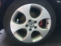 Genuine gti Monza alloy wheels
