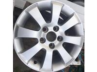 Vauxhall Astra alloy