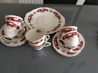 China tea service .