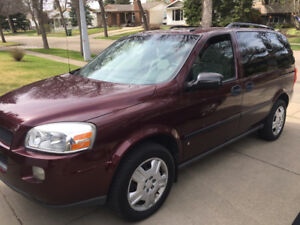 2007 Chevrolet Uplander LT Minivan, LOW KM'S - $6495.00