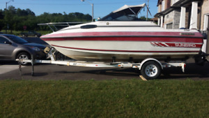 1990 Sunbird 198 Cuddy (19ft) + Trailer