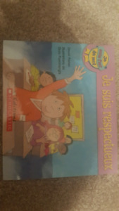 French- character education set of 5 books