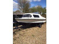 18ft Kingfisher Cabin Boat