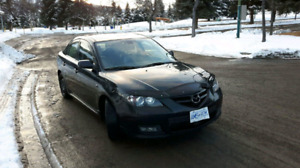 2008 mazda 3 GT( 115,000k ) PRICED TO SELL!
