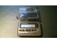Motorola Pageone Minicall Pager With Case