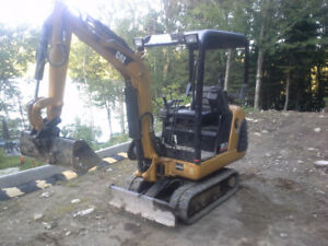 Mini excavatrice 301.5 Caterpillard