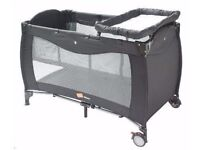 Babyway Mimas Luxury Travel Cot With Newborn Bassinet