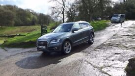 AUDI DAYTONA GREY Q5 ESTATE SPECIAL EDITIONS 2.0 TDi QUATTRO S LINE PLUS