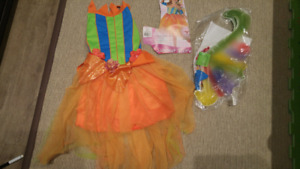 Summer Fairy Costume Size Youth Med 5-7 yrs
