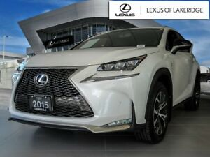 2015 Lexus NX 200t F Sport, Navi, BSM, No Accidents