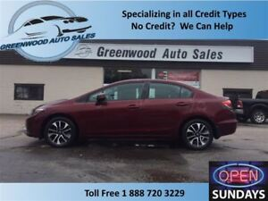 2013 Honda Civic EX, ALLOYS, SUNROOF, GREAT PRICE!