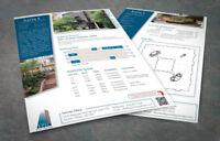 Logo, Business Cards, Flyers, printing, responsive web design