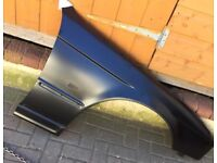 BMW series 5 drivers side front wing.