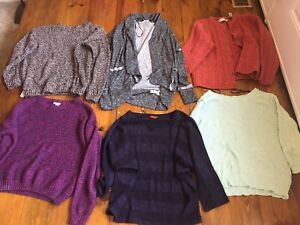 Women Sweater and Cardigan Lot