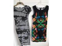3 dresses, 1 skirt, size 10