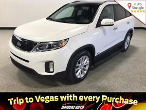2015 Kia Sorento EX V6 CLEAN CARPROOF, EX V6, HEATED STEERING...