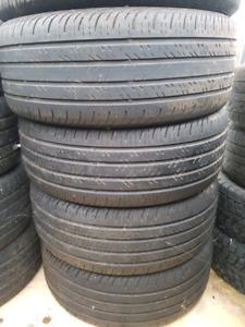 4 pneus Continental 235/55r17