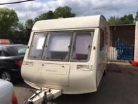 Bailey Pageant CD Champagne 4 Berth Caravan End Bathroom Ideal Family Van