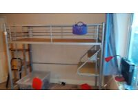 Cabinbed with desk in excellent condition