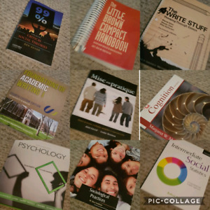 Variety of University Textbooks For Sale