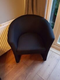 MUST SELL TODAY 2 black chairs