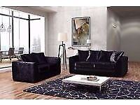 CRUSH VELVET RANGE NOW IN 3+2 sofa brand new last few sofa set