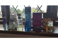 A selection of perfumes