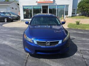 2008 Honda Accord EX-L heated leather, power sunroof!