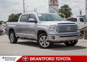2016 Toyota Tundra Platinum 5.7L V8, Local Trade In, New Tires