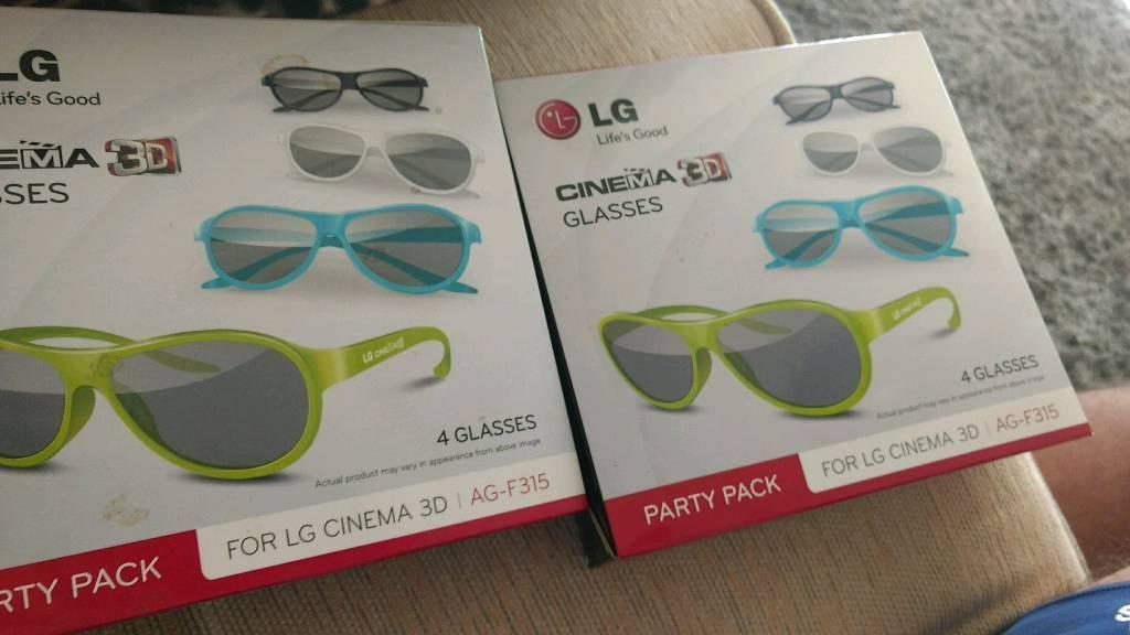 LG AG F315 Party Pack 3D Cinema Glasses LG AG F315 6pairs unusedin Cardiff Bay, CardiffGumtree - LG AG F315 Party Pack 3D Cinema Glasses LG AG F315 6pairs unused