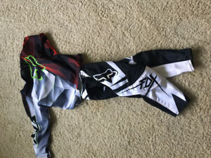 Fox dirt bike clothes
