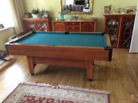 Harvard 6ft Pool Table (used in excellent condition)