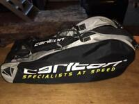 RRP £25 CARLTON BADMINTON RACKETS BAG (Holds up to 20 Racquets)