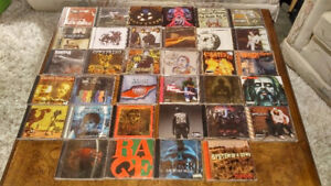 35 CD's SLAYER, AC/DC, PANTARA ETC. SEE THE PICTURES FOR ARTISTS